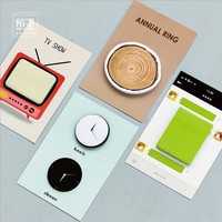1 X Life rings memo pad TV paper sticky notes notepad post it stationery papeleria school supplies material escolar