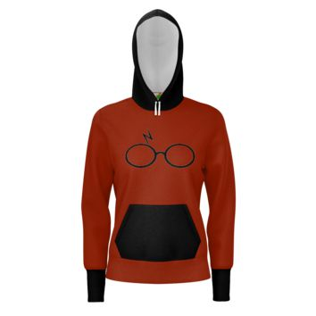 Harry Potter - Women's Comfy Pullover Hoodie