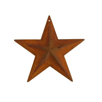 Metal Rustic Stars Christmas Decor, 7-3/4-Inch