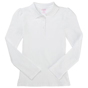 French Toast School Uniform Pique Polo Shirt - Girls