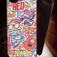 Taylor Swift Collage for iPhone 4/4S/5/5S/5C Case, Samsung Galaxy S3/S4/S5 Case, iPod Touch 4/5 Case