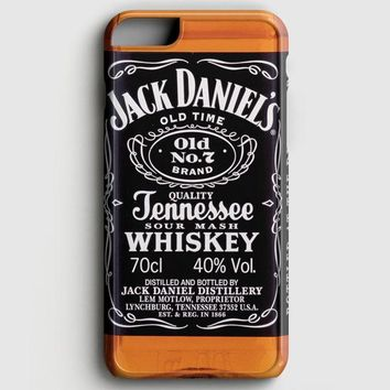 Jack Daniels Black Label iPhone 8 Case | casescraft