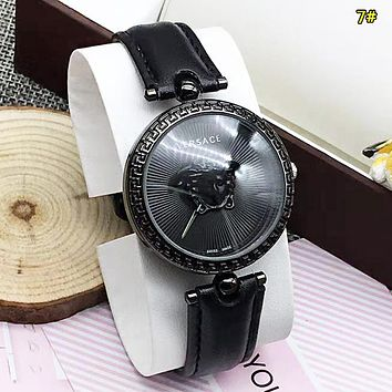 Versace Fashion New Dial Human Head Women Men Watch Wristwatch 7#