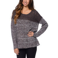 RVCA Popol Purple Crew Neck Sweater at Zumiez : PDP