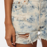 Urban Renewal Acid Wash Destroyed Denim Short