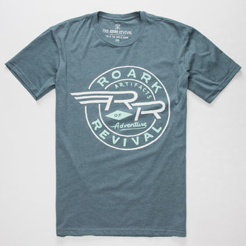 Roark Take Flight Mens T-Shirt Indigo  In Sizes