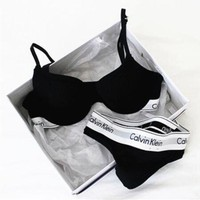 Calvin Klein Women Bra Panties Underwear Set Bikini Two Piece F