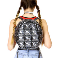 BLACK BUBBLE BACKPACK