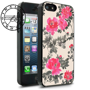 Flowers themed iPhone 4s iPhone 5 iPhone 5s iPhone 6 case, Samsung s3 Samsung s4 Samsung s5 note 3 note 4 case, Htc One Case