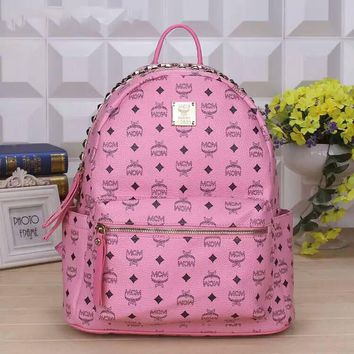 Day-First™ MCM women Bag Shoulder School Bag Backpack