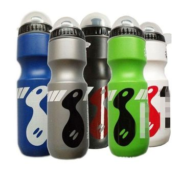 650ML Bicycle Water Bottle Outdoor Sports Water Bottles Portable Bike Bottle 6 Color Leak Proof Bike Cup Bicycle Accessories