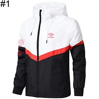 ADIDAS Clover 2018 spring and summer new sunscreen windbreaker jacket F-BL-YD #1