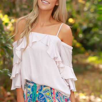 Mariachi Me Blouse Dusty Pink