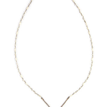 Chan Luu Sterling Silver Cultured Freshwater Pearl Necklace