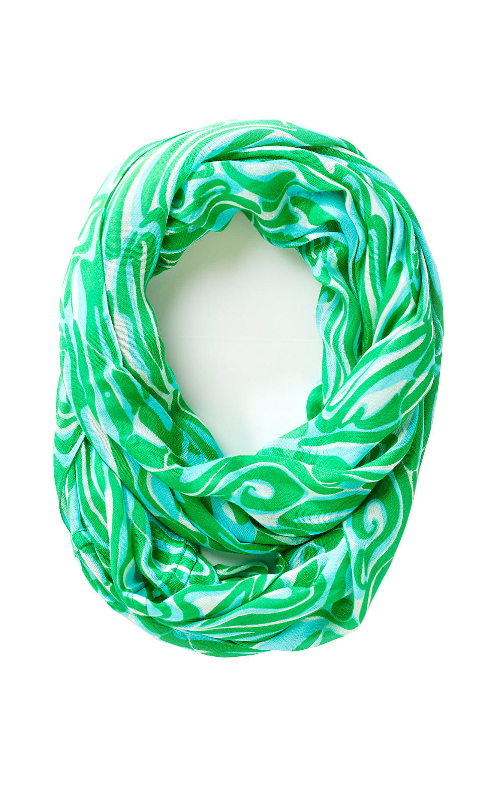 lilly pulitzer infinity loop scarf from lilly pulitzer