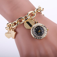 Alloy Ladies Stainless Steel Chain Watch Bracelet Watch [6047866689]