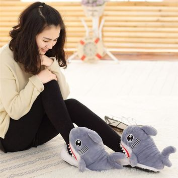 Winter Super Animal Funny Shoes For Men and Women Warm Soft Bottom Home&House Indoor F