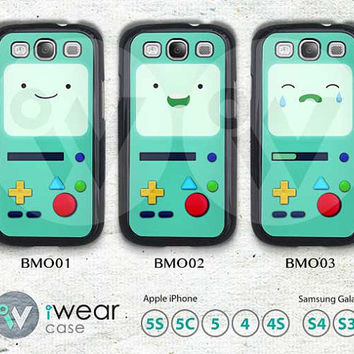 Adventure time bmo Samsung Galaxy S3 S4 Case,Adventure time Beemo Galaxy S3 S4 Hard Case,cover skin Case for Galaxy S3 S4,More styles