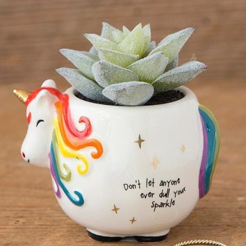 Unicorn Succulent By Natural Life