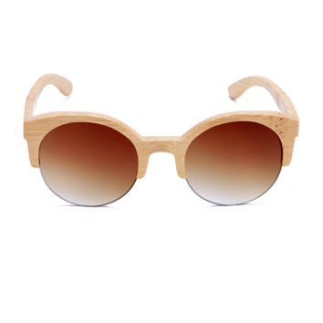 The Natural Brows Bamboo Sunglasses Brown