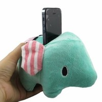 San-x Rilakkuma Sentimental Circus Elephant Plush Toy for Iphone 4 4s Holder
