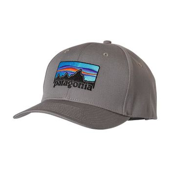 Patagonia '73 Logo Roger That Hat | Feather Grey