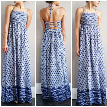 A Bohemian Love Double Slit Maxi