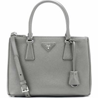 Galleria Saffiano Small leather shoulder bag