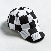 UO Checkered Dad Hat | Urban Outfitters