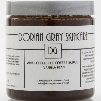 Anti-Cellulite Coffee Scrub-Vanilla Bean
