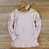 Dusty Lilac Lace Thermal