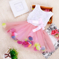 Sweet Bow Gown Dress