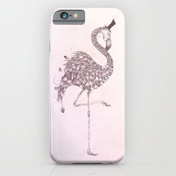 Flamingo iPhone & iPod Case by LouJah