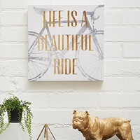 Beautiful Ride Canvas Art