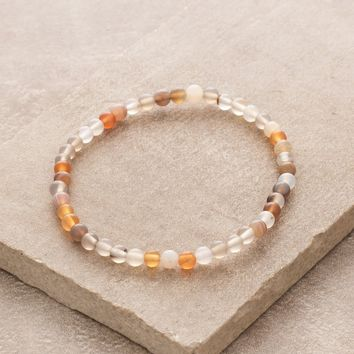 Botswana Agate Mini Energy Gemstone Bracelet