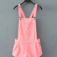 Free shipping Summer Women Jeans Short Loose cowboy overalls shorts Big yards conjoined shorts