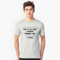 """You should know this ..."" Unisex T-Shirt by Naumovski 