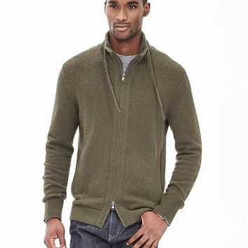 Banana Republic Mens Todd & Duncan Cashmere Sweater Jacket