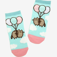 Pusheen Balloons No-Show Socks