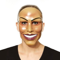 Smiling Mask The Purge