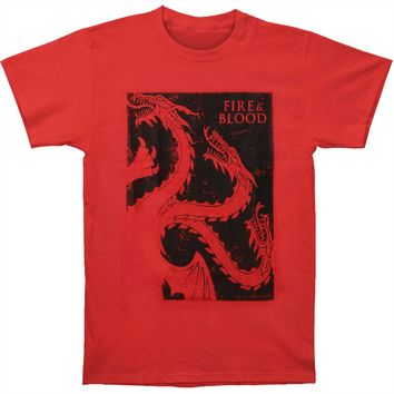 Game Of Thrones Men's  Targ Slim Fit T-shirt Red