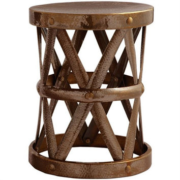 Arteriors Home Costello Iron Accent Table in Antique Brass, Small - Arteriors Home 2004