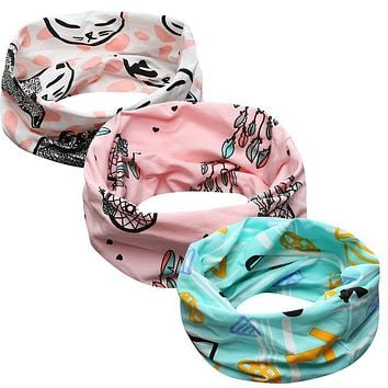 New Arrival Autumn children baby boys and girls cotton O-ring collar baby neck scarf