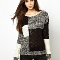 Only Monocrome Patch Jumper