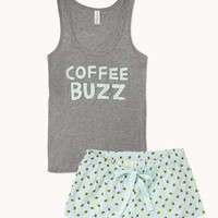 Coffee Buzz PJ Set