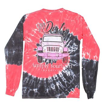 Getting Dirty Tee in Hurricane by Simply Southern