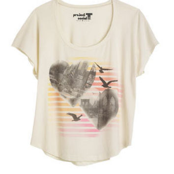 City Heart Birds Tee