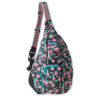 Monogrammed Kavu Rope Bag - Sparklers | Monogram Crossbody Bag | Teens | Women | Outdoors Satchel | Gift for Her | Canvas Sling Bag