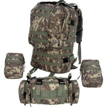 65L Tactical Military Style Hiking Backpack