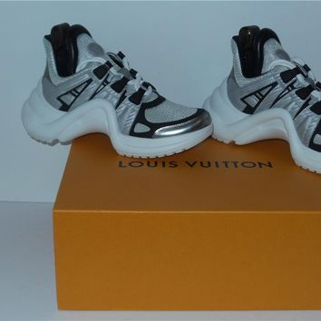 LOUIS VUITTON ARCHLIGHT SNEAKERS LV 1A43JP SHOES SIZE 38